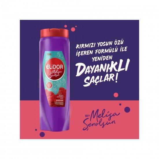 Elidor Kırmızı Yosun Özlü Şampuan by Melisa Şenolsun 500 ML