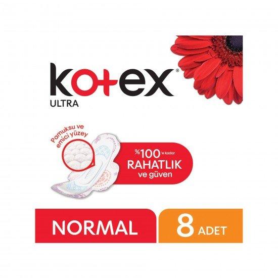 Kotex Ultra Hijyenik Ped Normal 8 Adet