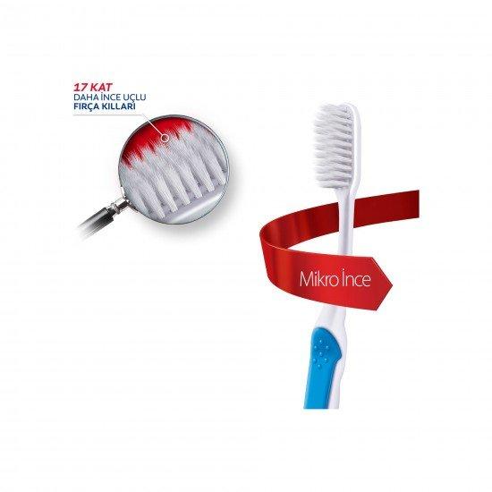 Colgate Mikro İnce Compact Extra Yumuşak Diş Fırçası 1+1