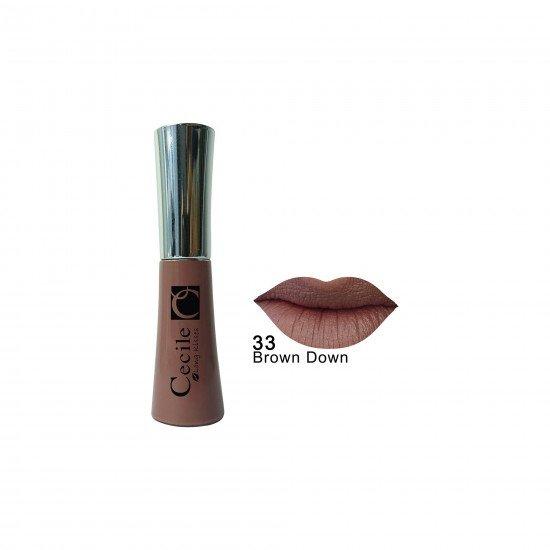 Cecile Kalıcı Mat Ruj Long Kisses Lipgloss 33