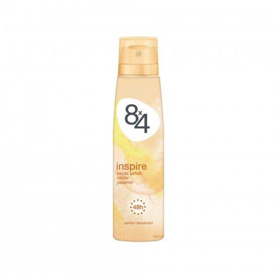 8X4 İnspire Sprey Deodorant 150 ML