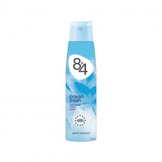 8X4 Ocean Fresh Sprey Deodorant 150 ML