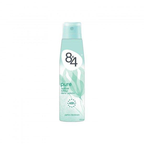 8X4 Pure Kadın Deodorant Sprey 150 Ml