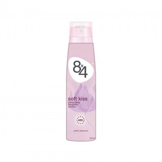8X4 Soft Kiss Sprey Deodorant 150 ML