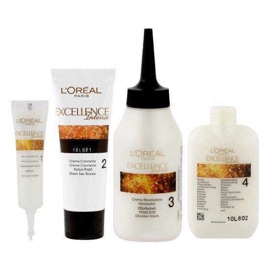 Loreal Paris Excellence Intense Saç Boyası 8.34 Zengin Sıcak Sarı