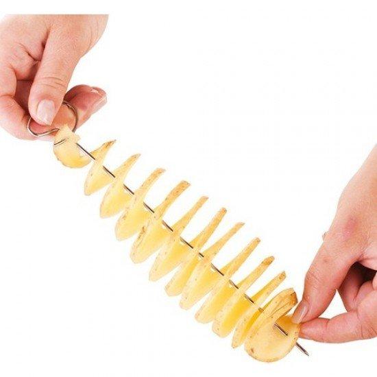 Balsa Spiral Patates Dilimleyici