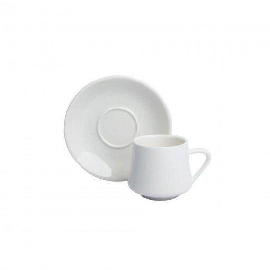 Acar Porselen Beyaz Kahve Fincan Takımı 10129