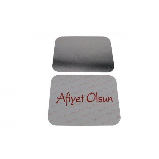 Alüminyum Kase Kapağı 2 Göz - 3 Göz ve 1500 Gr 100 Adet