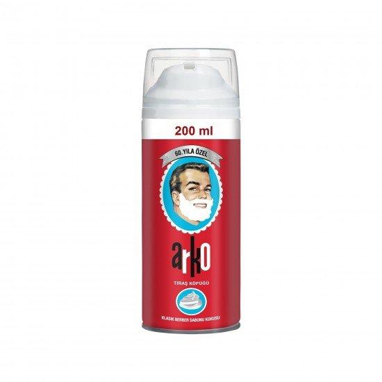 Arko 60. Yıl Özel Klasik Berber Sabunu Kokulu Tıraş Köpüğü 200 ML
