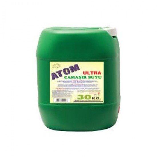 Atom Ultra Yoğun Kıvamlı Çamaşır Suyu 30 Kg
