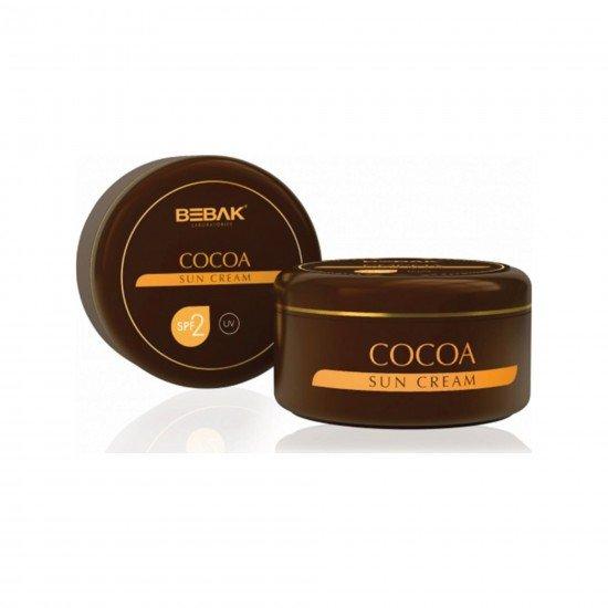 Bebak Güneş Bakım Kremi Kakao Özlü 100 gr