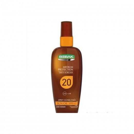 Bebak Güneş Yağ Spf 20 150 ML