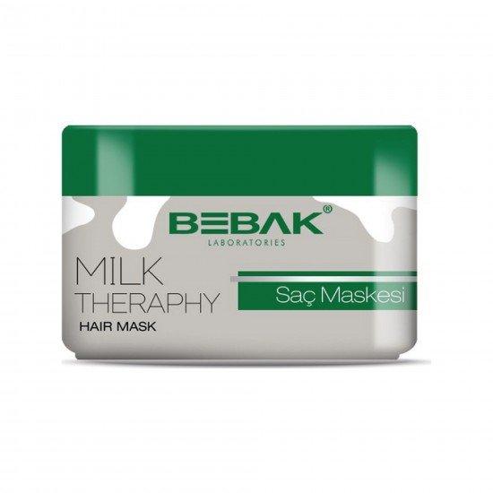 Bebak Milk Theraphy Saç Bakım Maskesi 220 ML