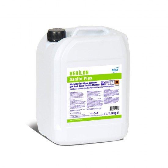 Berilon Sanite Antibakteriyel Yüzey Temizleyici 5 Lt