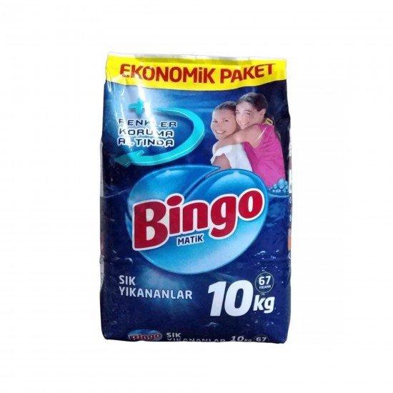 Bingo Matik Sık Yıkananlar Renkli ve Beyazlar İçin 10 KG