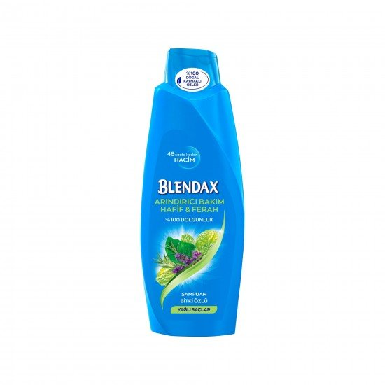 Blendax Bitki Özlü Şampuan Yağlı Saçlar İçin 550 ml