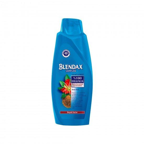 Blendax Kına Özlü Şampuan ve Saç Bakım Kremi Boyalı Saçlar İçin 550 ml
