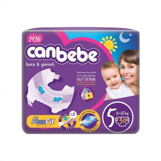 Canbebe Jumbo Junior Bebek Bezi 5 Beden 30lu