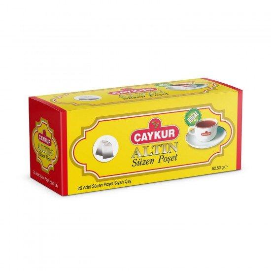Çaykur Altın Süzen Poşet Çay 62,50 Gr 25li