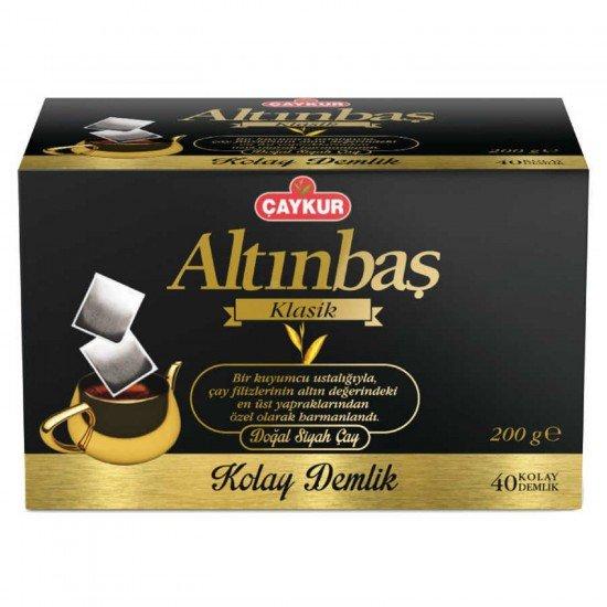 Çaykur Altınbaş Klasik Kolay Demlik Çay 200 gr 40 Adet