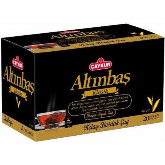 Çaykur Altınbaş Süzen Bardak Poşet Çay 40 gr 20 Adet