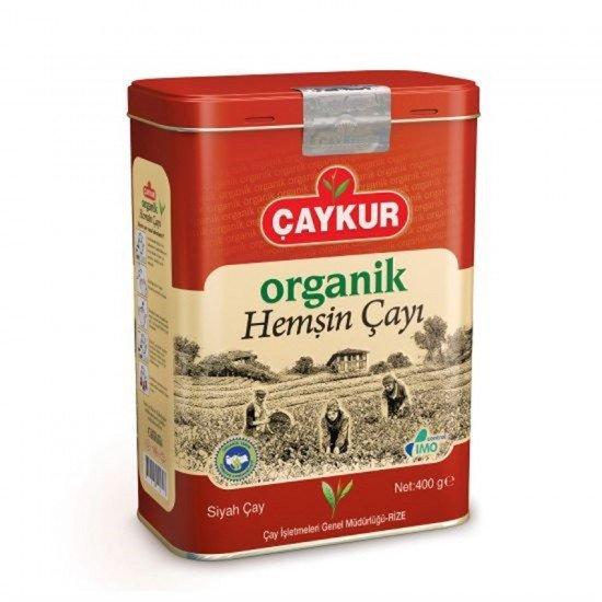 Çaykur Organik Hemşin Çay Teneke Kutu 400 gr