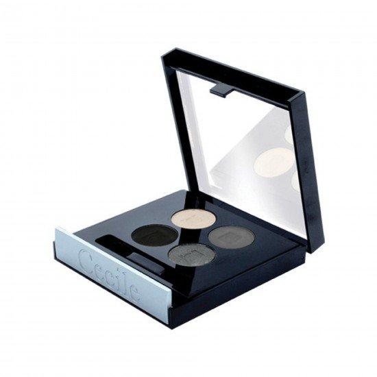 Cecile 4 Lü Far Matte Quatro Eyeshadow 801