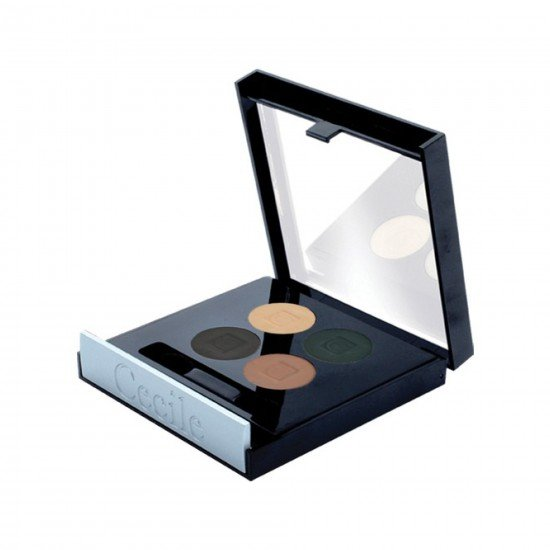 Cecile 4 Lü Far Matte Quatro Eyeshadow 802