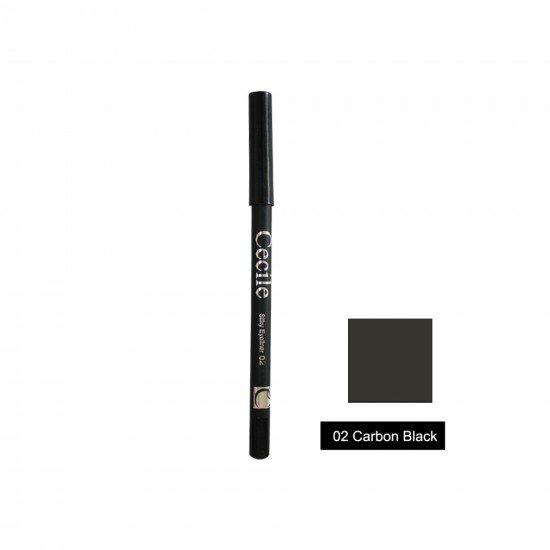 Cecile Göz Kalemi Silky Eyeliner 02 Carbon Black