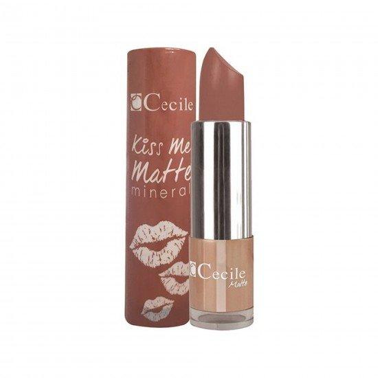 Cecile Kiss Me Matte Mineral Mat Ruj 306