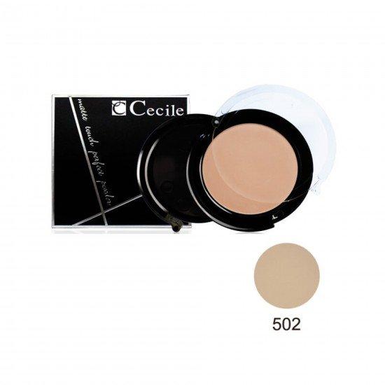 Cecile Matte Touch Perfect Powder Toz Pudra 502