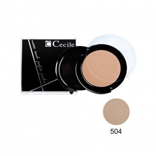 Cecile Matte Touch Perfect Powder Toz Pudra 504