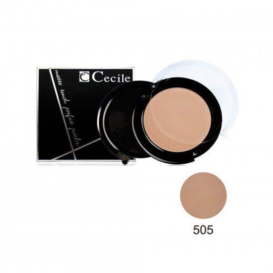Cecile Matte Touch Perfect Powder Toz Pudra 505