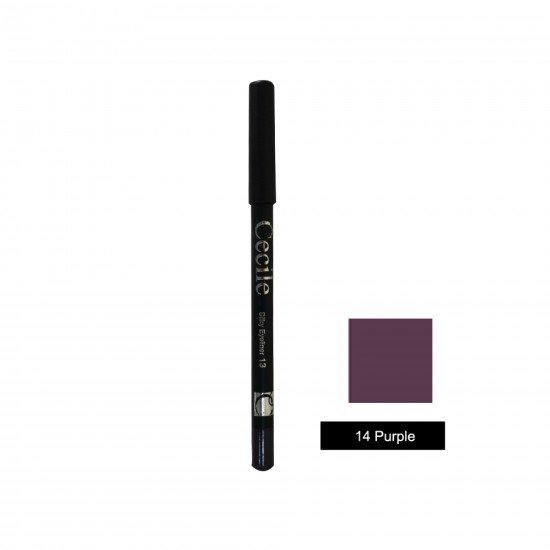 Cecile Silky Eyeliner 14 Purple