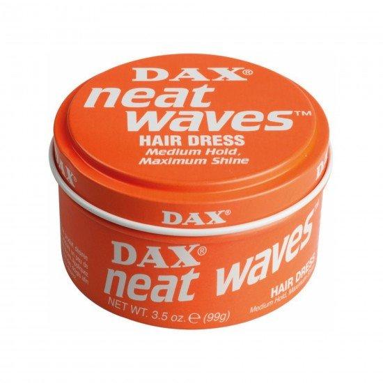 Dax Neat Waves  - Düz Saçlar için Hafif Tutucu Şekillendirici Wax 99 GR