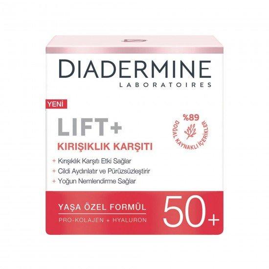 Diadermine Hydra Lift+ Kırışıklık Karşıtı Bakım Kremi 50+ Yas 50 Ml