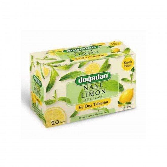 Doğadan Nane Limon Bitki Çayı 20 Lİ