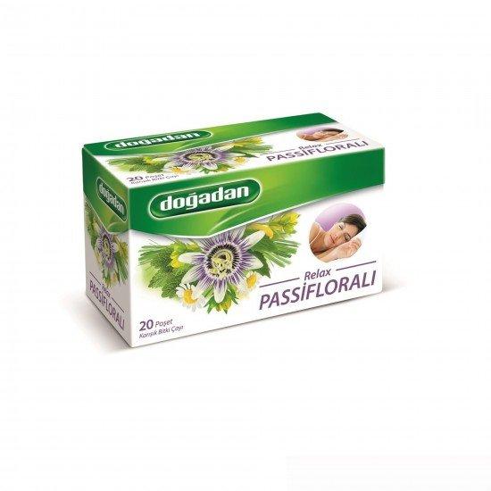 Doğadan Relax Passifloralı Bitki Çayı 20 Lİ