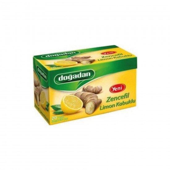 Doğadan Zencefil Limon Kabuklu Bitki Çayı 20 Lİ