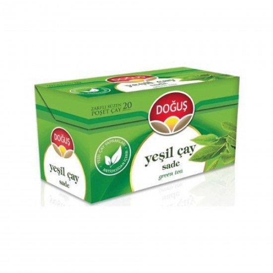 Doğuş Bitki Çayı Sade Yeşil Çay 20 Lİ