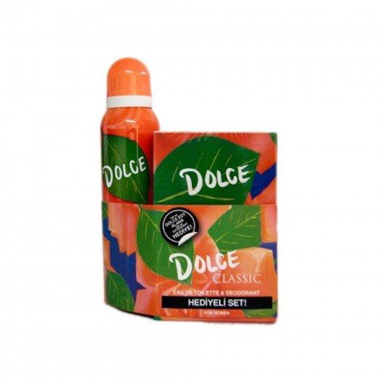 Dolce Classic Edt 100 Ml + Kadın Deodorant 150 Ml