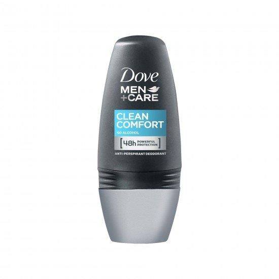 Dove Men Deodorant Roll-On Clean Comfort 50 Ml