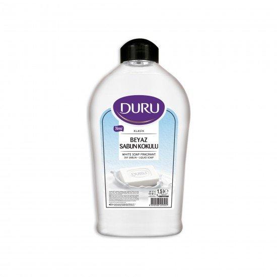 Duru Beyaz Sabun Kokulu Sıvı Sabun 1,5 LT