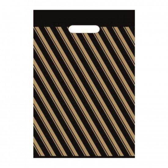 Ecoplast Takviyeli Poşet Çizgili 60X70 No:6 - 50li