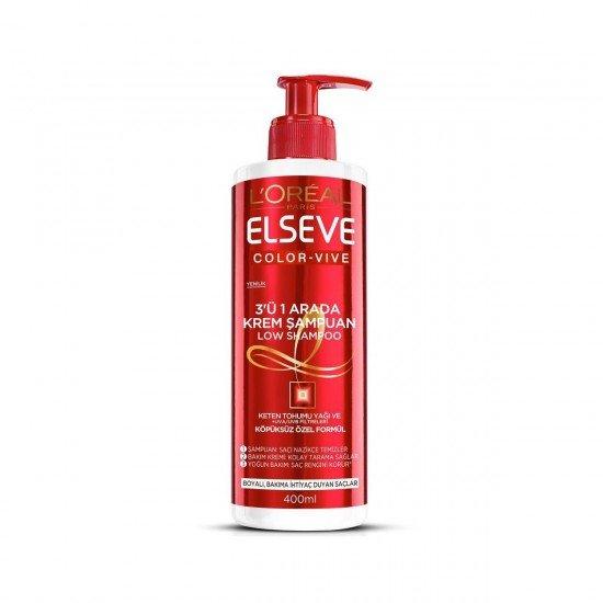 Elseve Color-Vive 3ü1 Arada Krem Şampuan 400ml