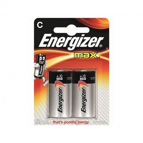Energizer Max C Size Orta Boy Pil 2Li Blister