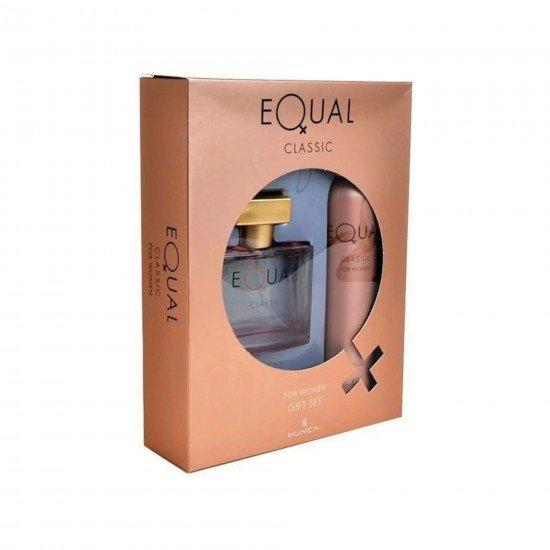 Equal Classic Kadın Edt 75 ml + Deodorant 150 ml Kadın Parfüm Seti