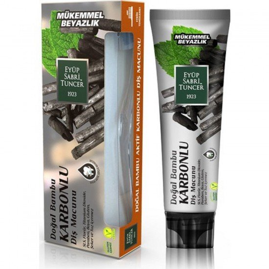 Eyüp Sabri Tuncer Doğal Bambu Karbonlu Diş Macunu 75 ml