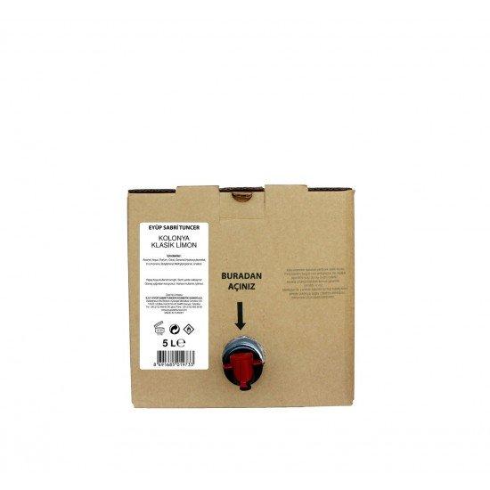 Eyüp Sabri TuncerKlasik Limon Kolonyası 5 lt - Bag in Box