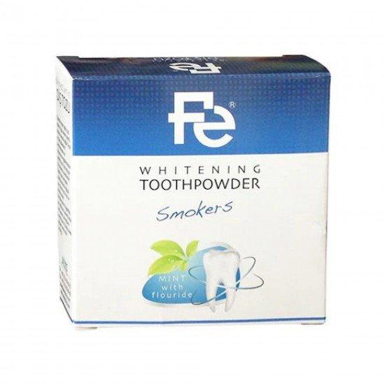 Fe Beyazlatıcı Diş Tozu Sigara İçenler İçin 50 gr